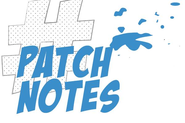 Patch Notes Niko Naakka