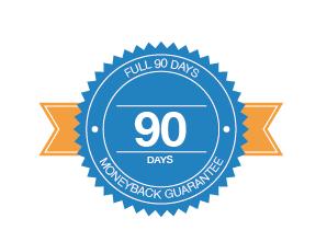 Full 90 day moneyback guarantee