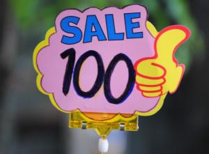 Advertised price
